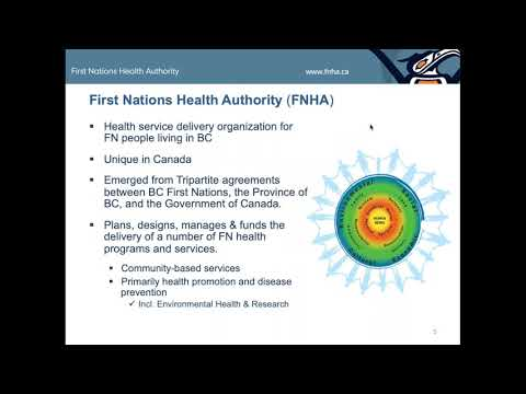 Climate Change And Health Adaptation: Working With BC First Nations