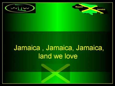 The Jamaica National Anthem instrumental with lyrics