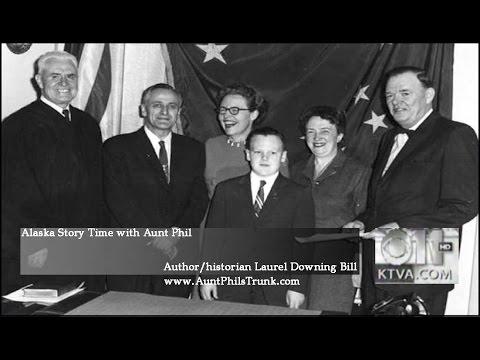 Laurel Bill on Alaska Story Time with Aunt Phil, Egan Day in Alaska