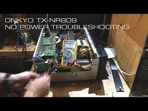 onkyo-tx-nr809-no-power-troubleshooting