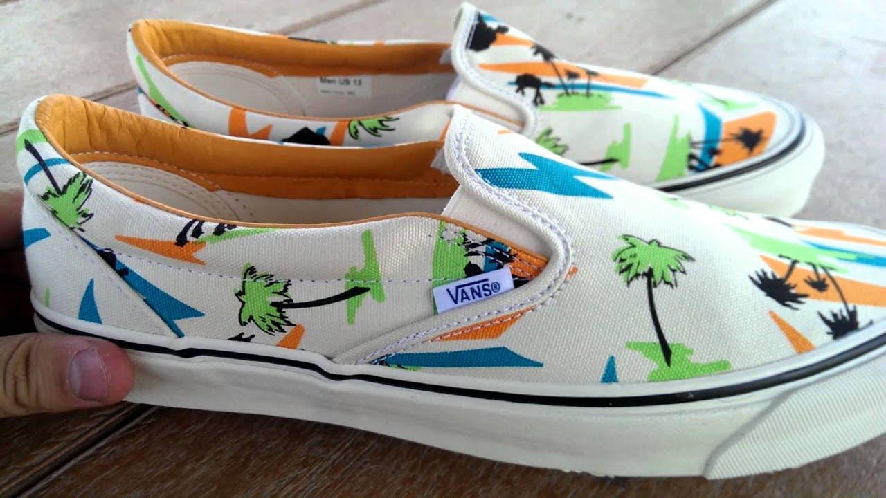 5dacbe8f97 Shoe Review  Vans Vault Originals x Star Wars  Miami AT-AT  Classic Slip-On  LX