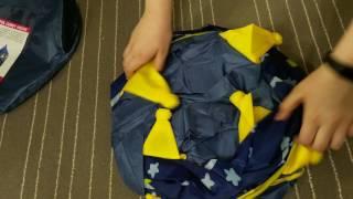 Распаковка и полный обзор детской игровой палатки
