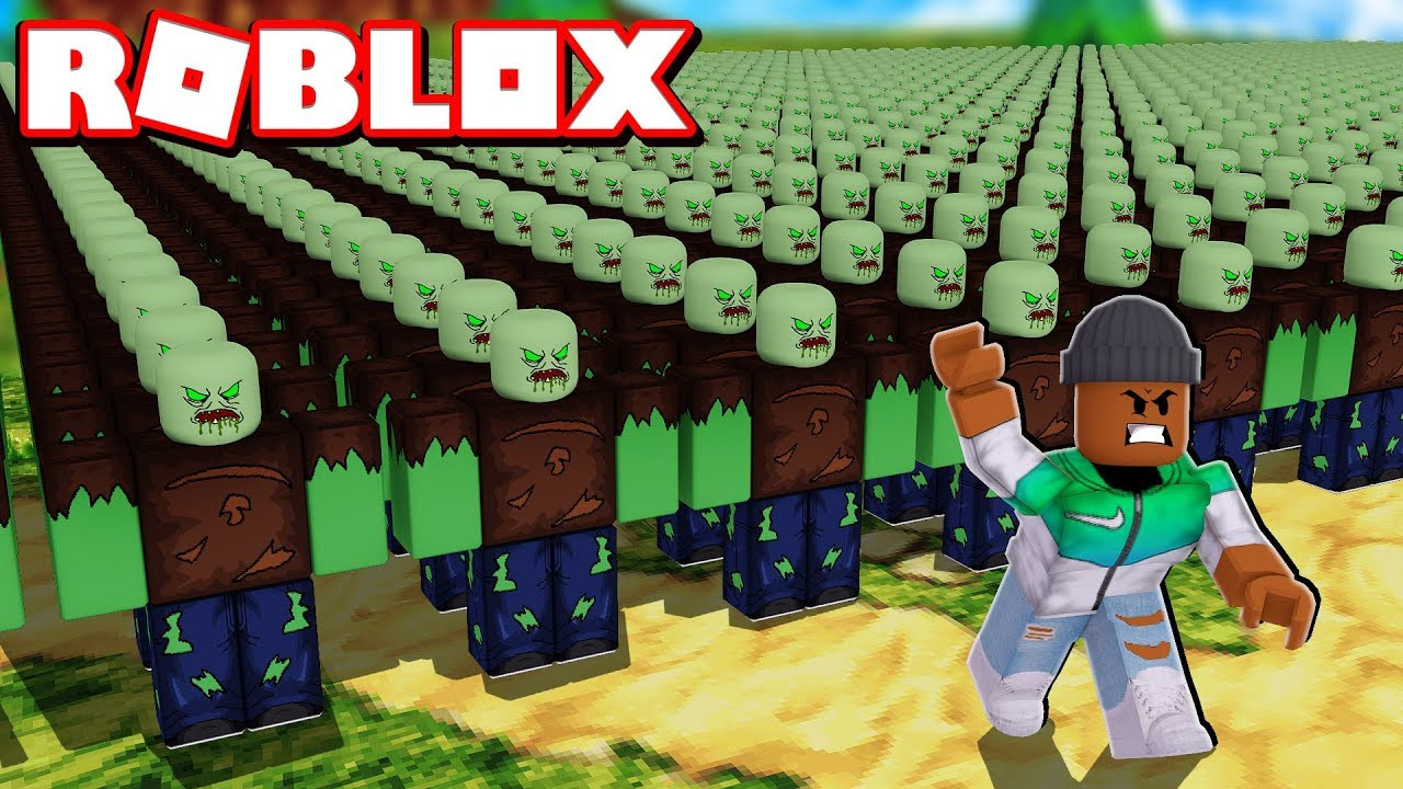 Building A Zombie Army Roblox Infection Inc 2 Youtube