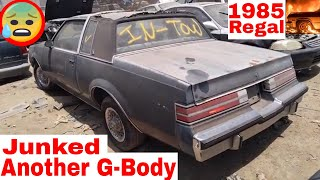 1985 G-body Buick Regal Junk Yard Find