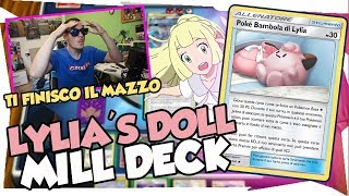 KO SENZA PREMI | LILLIE'S DOLL DECK MILL/STALL | Mazzo Pokemon Eclissi Cosmica| POKEMON TCGO ITA