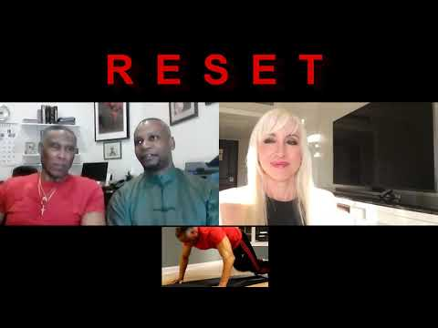 RESET Radio Show  | Jacqui & Sifu Romain interview Chuck Elion 78 yrs old does 500 push ups