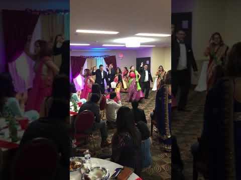 Dancing at Rajivs wedding anniversary