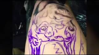 Сделала татуировку своего добермана