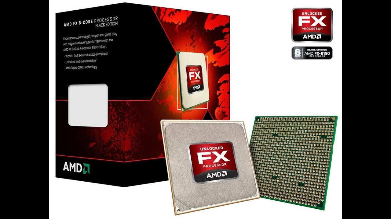 AMD FX-8150 Vs FX-8350 - YouTube