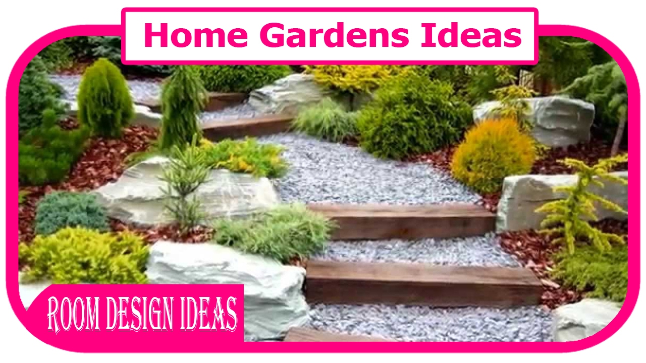 Home gardens ideas front garden design ideas front for Small house garden design