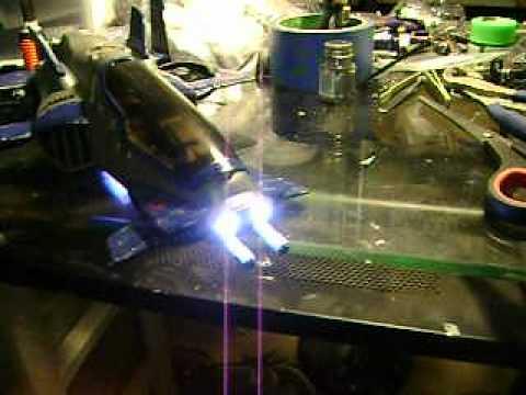 G.I. Joe - Cobra Swoop Custom w/ 9 leds