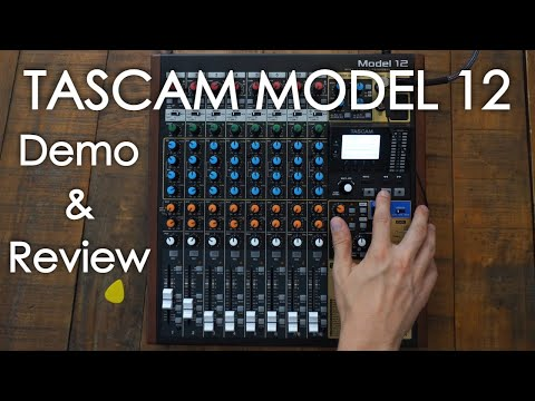 Tascam Model 12 Review and Live Demo Guide