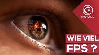 WIE VIELE Bilder pro Sekunde (fps) kann das menschliche Auge sehen? #KreativeFragen 38