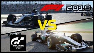 F1 2018 vs Gran Turismo Sport - Interlagos