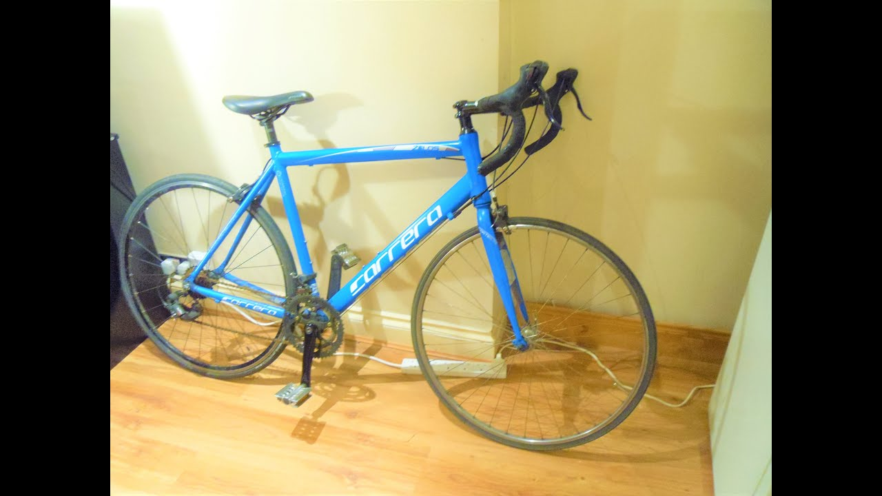 Carrera Zelos Men S Racing Road Bike Electric Blue Review Youtube