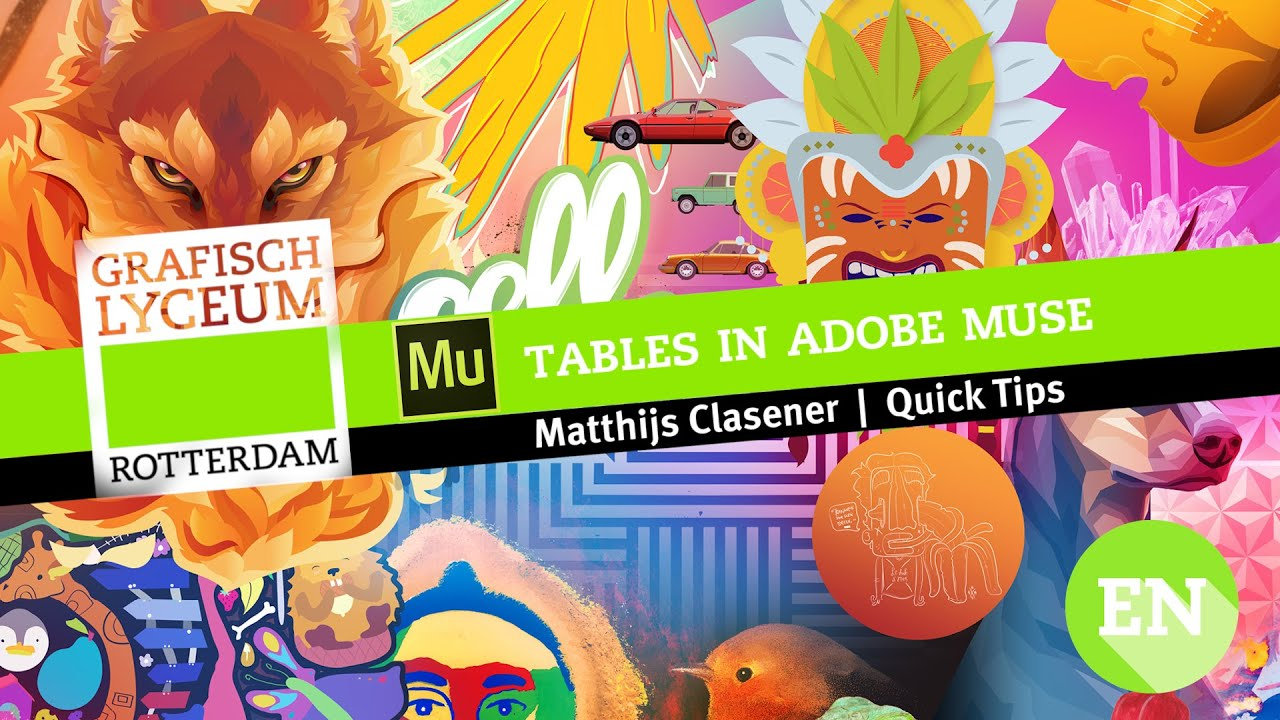 QuickTip | How to add tables to your Adobe Muse website