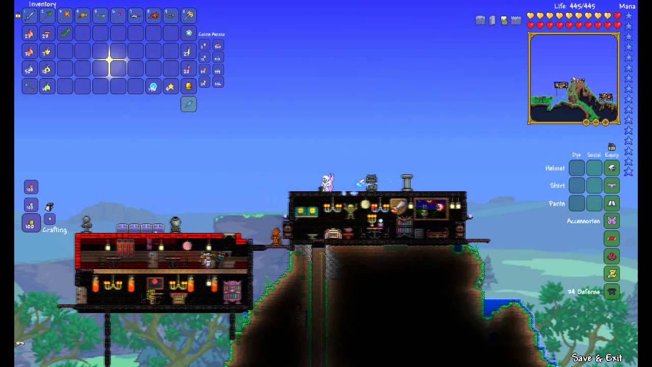 Butter: 564 ALL NEW HOW TO MAKE BUTTERFLY WINGS IN TERRARIA