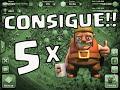 CÓMO CONSEGUIR LOS 5 CONSTRUCTORES GRATIS!!! - CLASH OF CLANS