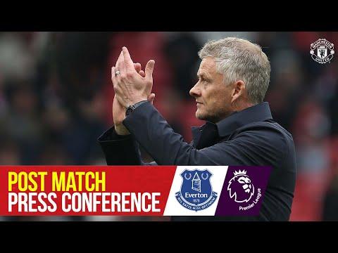 Post-match press conference |  Manchester United 1-1 Everton |  Ole Gunnar Solskjaer