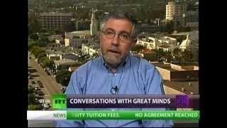 End This Depression Now! Nobel Prize Winning Economist Dr. Paul Krugman on Economic Soluti