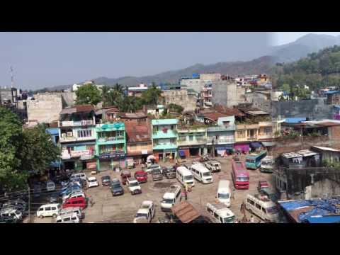 Dharan View from Ghantaghar
