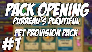 Wizard101: Pack Opening - Purreau's Plentiful Pet Provision Pack #1