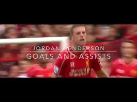 Jordan Henderson Goals & Assists 14/15
