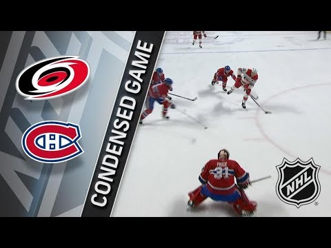 Carolina Hurricanes vs Montreal Canadiens – Jan. 25, 2018 | Game Highlights | NHL 2017/18 Обзор