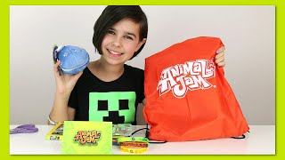 Animal Jam - Surprise Blind BAG Package Opening - Plushie and More