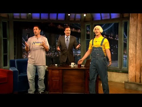 Adam Sandler's Father's Day Song with Jimmy Fallon and Andy Samberg (Late Night with Jimmy Fallon)