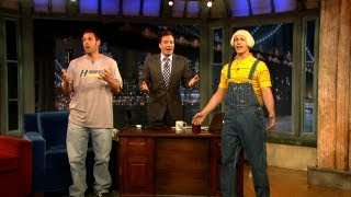 adam sandlers fathers day song with jimmy fallon and andy samberg late night with jimmy fallon
