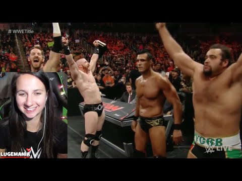 WWE Raw 11/30/15 League Of Nations