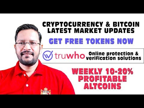 Bitcoin What Next? Truwho ICO – GET FREE TOKENS. Weekly 10-20% Profitable Altcoins.