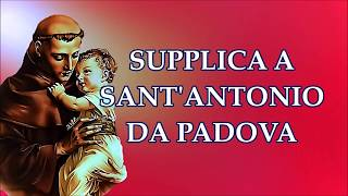 Supplica a Sant'Antonio da Padova