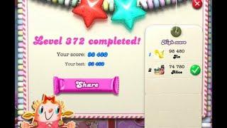 Candy Crush Saga Level 372 ★★ NO BOOSTER