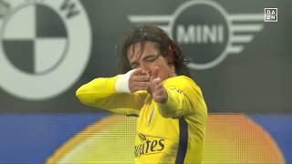 Top Tore von Edinson Cavani - Ligue 1 - 17/18   DAZN - Compilations