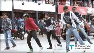 Flashmob at Kollam by TRAVANCORE BUSINESS ACADEMY