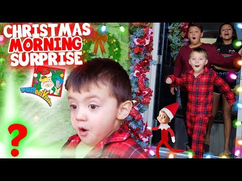 Christmas Morning Surprise Funnel Fam 2018 Xmas Haul Vision