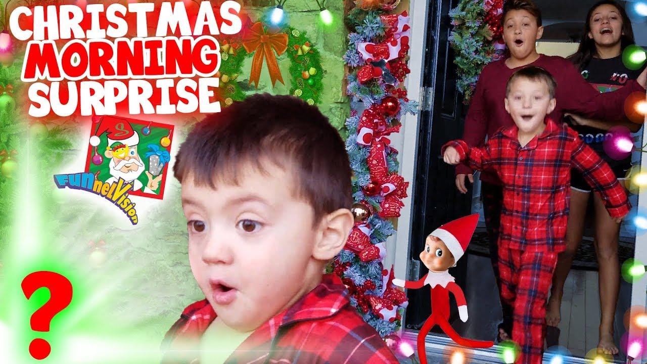 Funnel Vision Christmas 2020 Vlog Christmas Morning Surprise (FUNnel Fam 2018 Xmas Haul Vision