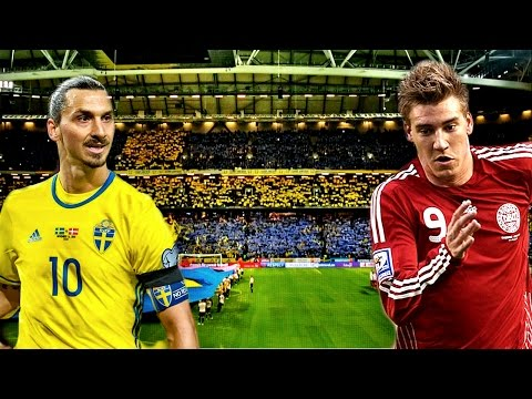 Sweden v Denmark | More Than Just Zlatan v Bendtner