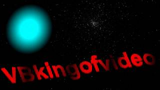 Great Waves Of VBKingofvideo Intro In Outer Space Cool Planet HD Animation with Awesome Music