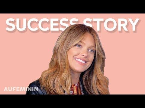 SUCCESS STORY : CAROLINE RECEVEUR NOUS PARLE DE SON PASSÉ   AUFEMININ