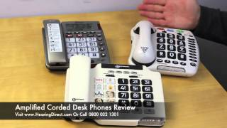 Amplified Corded Desk Phones Review
