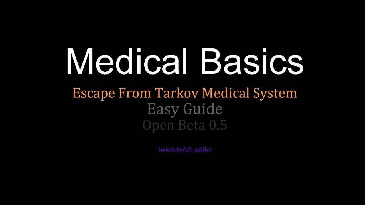 escape from tarkov health