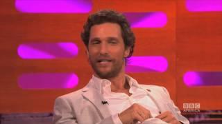 Matthew McConaughey on his 2014 Oscar Winning Moment - The Graham Norton Show on BBC America