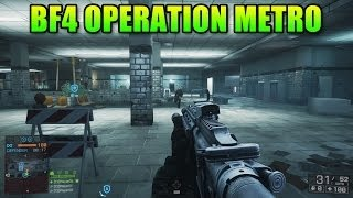 Operation Metro First Look! Big Improvements (Battlefield 4: XBOX ONE Second Assault Gameplay)