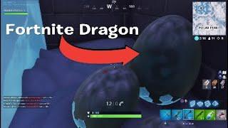 Fortnite Dragon Egg Location (No Glitch!) Melted Ice Path!