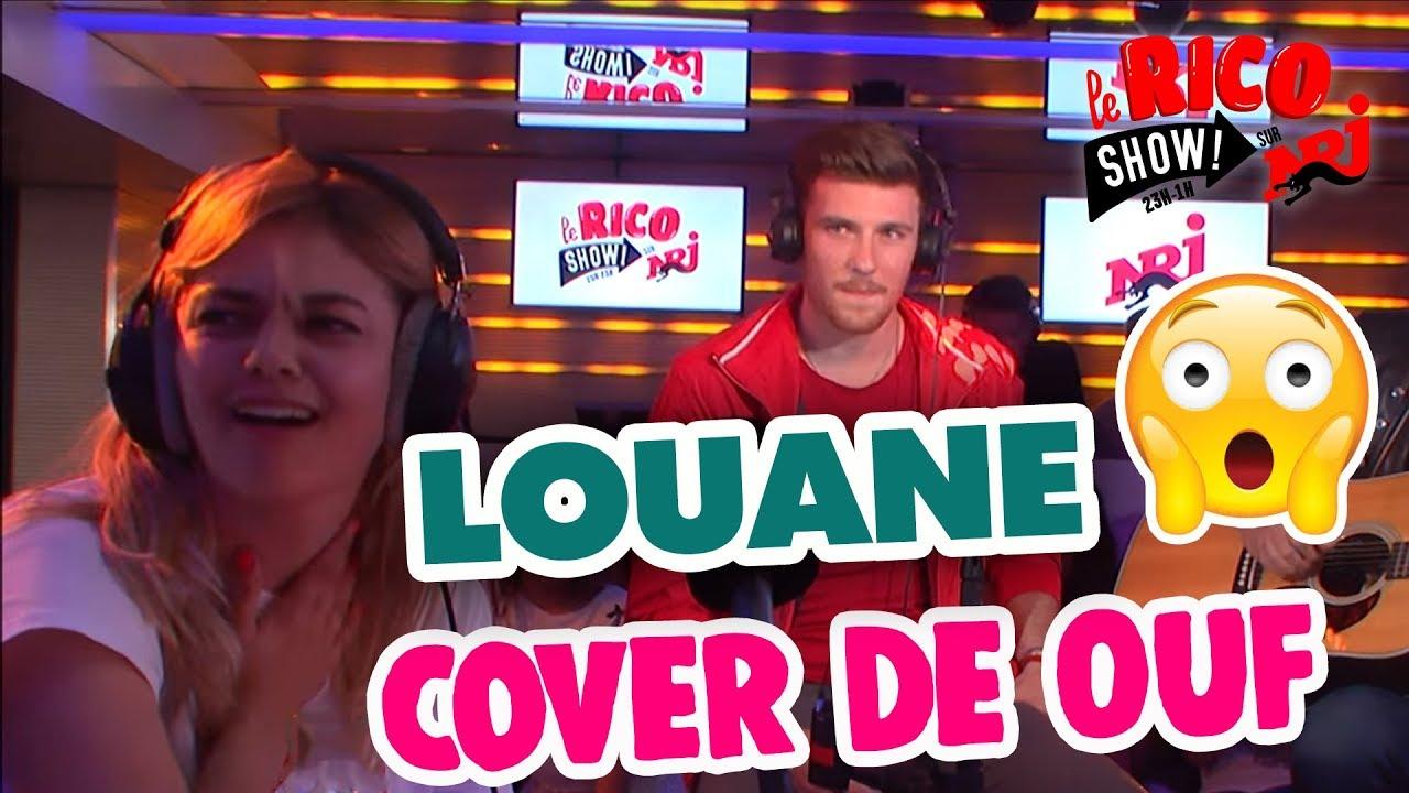 """La cover de Casanova """"Immobile"""" pour Louane - Le Rico Show sur NRJ"""