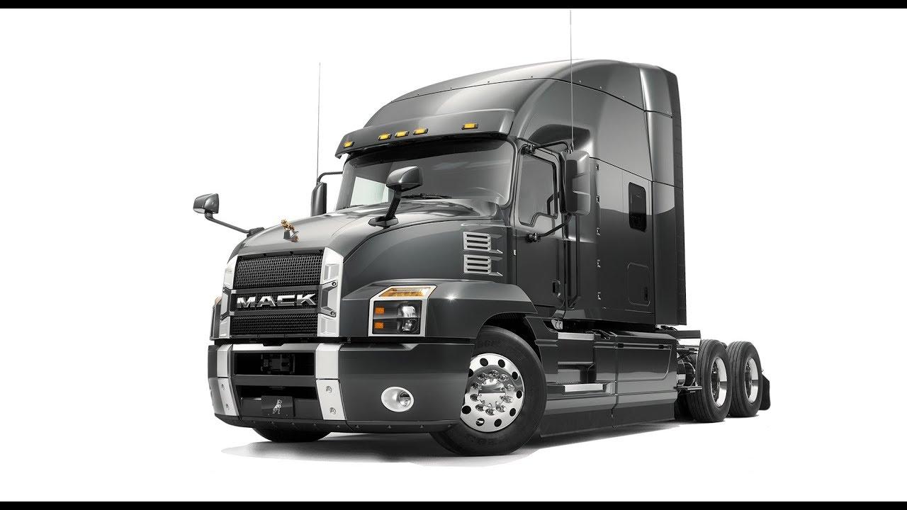 the brand new mack anthem truck [ 1280 x 720 Pixel ]