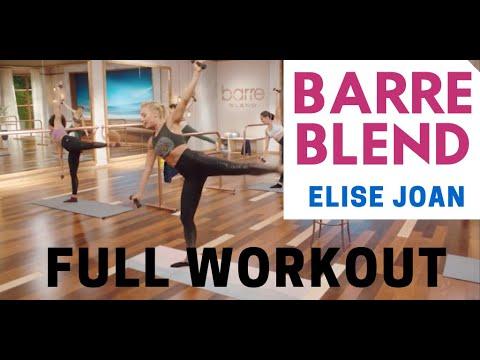 Barre Blend Sample Workout